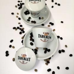 2 tazzine Caffè Taberlet con o senza tappi